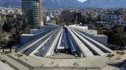 L'iconique pyramide de Tirana ressuscitée par le numérique