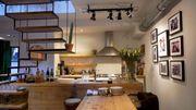 Transformation d'un ancien atelier en loft contemporain et chaleureux
