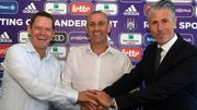 "Davies veut ""gagner à court terme"" avec Anderlecht en jouant ""un football attractif"""