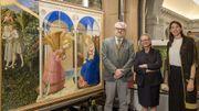 """""""L'Annonciation"""" de Fra Angelico restaurée pour le bicentenaire du musée du Prado"""