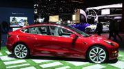 """Tesla livre son premier lot de voitures """"made in China"""""""