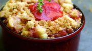 Recette : Crumble pommes-fraises
