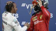 Hamilton profite de l'abandon de Vettel pour piéger Leclerc et renouer avec la victoire en Russie