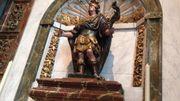 La statue de Saint-Symphorien