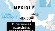 Mexique: 11 personnes tuées lors d'une fête pour enfants