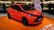 Toyota Aygo, première belge