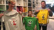 Des t-shirts et sweatshirts avec des dessins d'enfant
