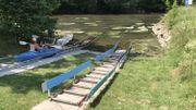 Sécheresse: les kayaks wallons en sursis