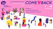 """Le """"COME♡BACK"""" des musées bruxellois, du 1 au 4octobre"""