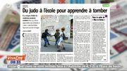 Des cours de judo à l'école ? On en parle dans la revue de presse