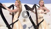 "[Zapping 21] Les harp twins reprennent ""Enter Sandman"""
