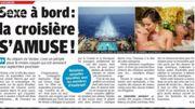 """Les croisières """"Sexe à bord"""", si, si ça existe... c'est dans la Revue de Presse..."""