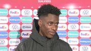 """Diables Rouges - Sambi Lokonga après sa première: """"J'espère un Belgique - Congo pour affronter mon frère Polo Mpoku"""""""