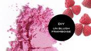 DIY Beauté : un blush aux framboises