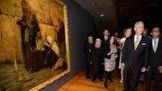 Le Roi et la Reine visitent une exposition au MAS à Anvers