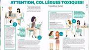 Vos collègues sont toxiques... lesquels devez vous éviter? Réponse dans la Revue de Presse