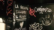 graffiti WC