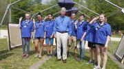 Be Scout : 25.000 scouts rassemblés à Louvain-la-Neuve, en présence du Roi