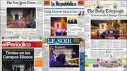 """J-2 avant la présidentielle française: """"La barbarie frappe à nouveau en plein Paris"""" (revue de presse)"""