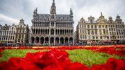 Le Japon à l'honneur du tapis de fleurs de la Grand-Place de Bruxelles en 2016