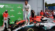 Hamilton se joue des Ferrari à Monza et creuse l'écart sur Vettel, Vandoorne 13ème