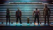 """L'équipe des """"Gardiens de la galaxie"""" joue les suspects"""