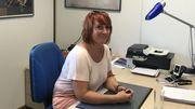 Marylène Tommaso, notre guide, encadrera l'équipe d'infirmiers.