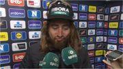 Sagan fait le show à l'interview après le Nieuwsblad