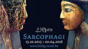 """L'exposition """"Sarcophagi - Sous les étoiles de Nout"""" ouverte au Musée du Cinquantenaire"""