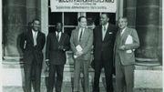 Congrès international des écrivains et artistes noirs à Paris, photographie, 1956.