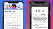 """Sur iOS 14.5, Facebook et Instagram réclament vos données """"pour rester gratuits"""""""