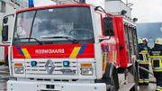 Kontich: l'incendie sur un site industriel est sous contrôle