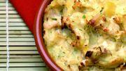 Recette : petit parmentier de thon au coulis de poivron rouge