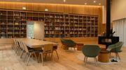 Une des salles du Centre Arvo Pärt