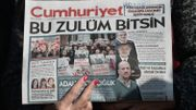 Turquie: peines de prison pour des journalistes de Cumhuriyet