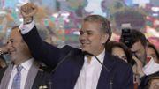 Colombie: retour de la droite avec Ivan Duque, qui veut corriger l'accord de paix