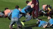 Les agents présents en nombre au stage d'Anderlecht ce jeudi