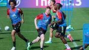 Diables rouges: Kevin De Bruyne présent pour la première fois à l'entraînement collectif