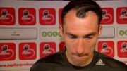 Proto extrêmement déçu après la défaite d'Anderlecht