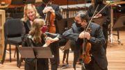"""L'Orchestre philharmonique de New York de """"retour à la maison"""" après 18 mois dans le noir"""