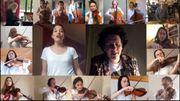 Jodie Devos chante The show must go on avec l'Orchestre de Chambre de Paris et d'autres artistes lyriques et pop