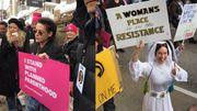 Marche des femmes: célébrités engagées et images fortes