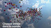 Les ballons de baudruche, un danger pour l'environnement