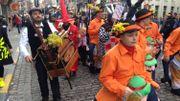 Dimanche gras à Binche : le carnaval est lancé.