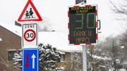 """Sécurité routière: les """" Zones 30 """" bientôt signalées au sol par des cercles et des carrés multicolores"""