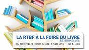 Retrouvez les équipes de la RTBF à La Foire du Livre de Bruxelles