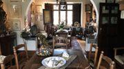 La salle à manger telle qu'elle était du temps de Maurice Carême