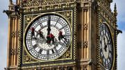 GB: Big Ben est en plein nettoyage