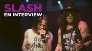 Rencontre avec Slash dans Classic 21 Metal