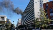 Incendie dans un immeuble à appartements à Evere